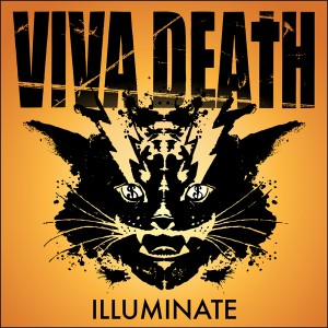 Viva Death - Illuminate LP (cover) 600 pixels