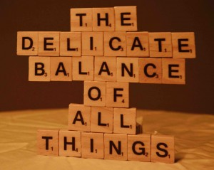 The Delicate Balance of All Things (cover)