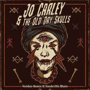 JCODS - Voodoo Bones & Vaudeville Blues art